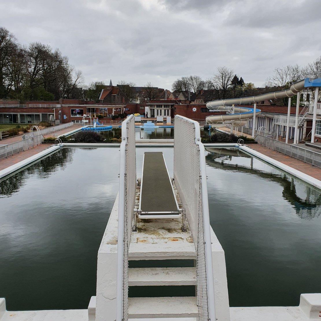 Openluchtzwembad - Abdijkaai - Kortrijk