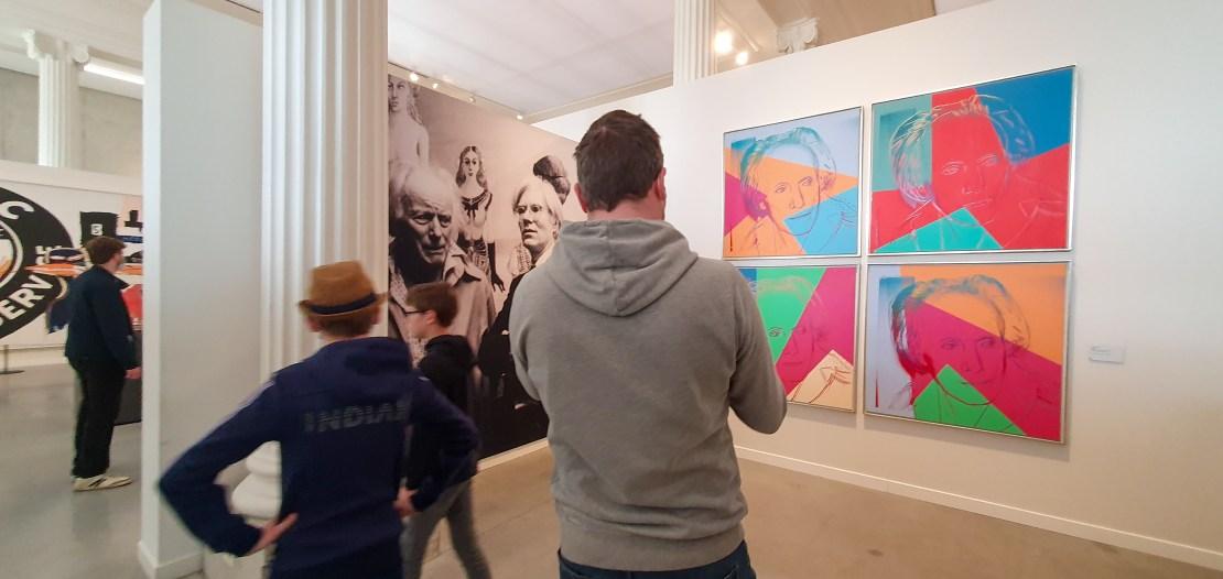 Warhol portet Paul Delvaux