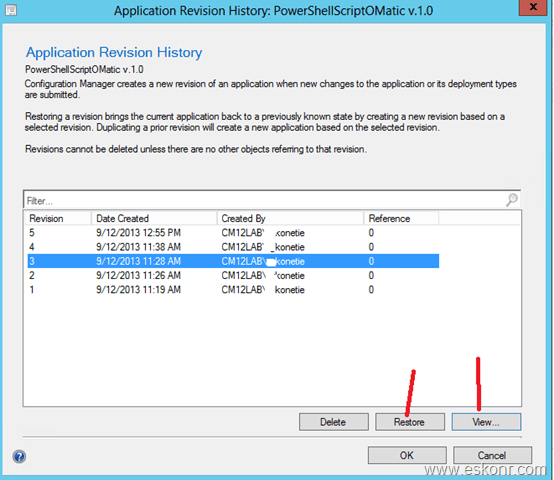 Sccm package source version not updating