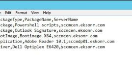 inputfile CSV file