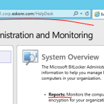 How to Install MBAM 2.5 SP1 and integrate with SCCM Configmgr 2012 R2 SP1 – Part 4