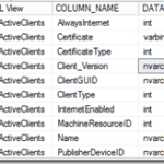 Download SCCM Configmgr CB 1606 SQL views documentation