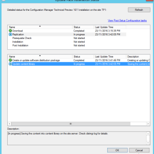 SCCM Configmgr Technical Preview update 1611 Available