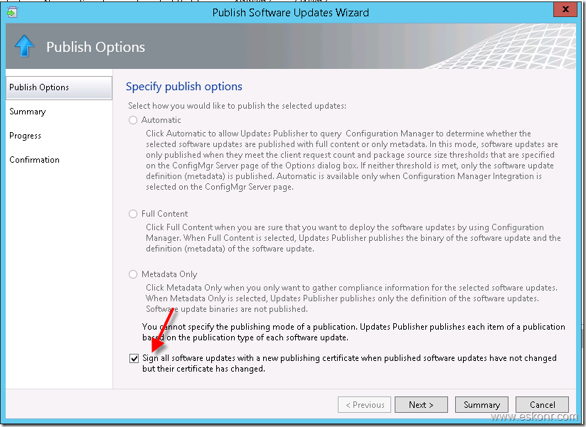 SCCM Configmgr Failed to initiate install of WSUS updates, error