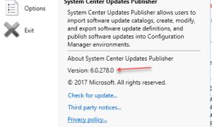 New version of System Center Updates Publisher (SCUP) is available to support windows 10 and server 2016
