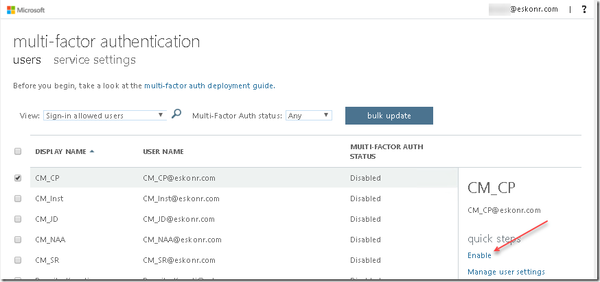 Different methods to setup Azure MFA Registration for O365