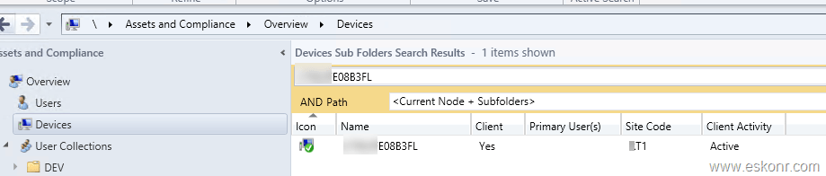 Troubleshooting Client that has NO SCCM Agent in Console BUT