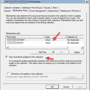 SCCM Configmgr Remove Collection membership for Direct rule Collections using Powershell