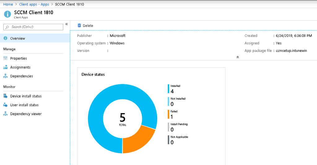 How to install SCCM Client from Microsoft Intune for Co-managed and
