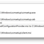 Using intune to install ConfigMgr client as win32 app using local source files without downloading from CMG