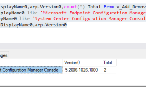 Create a collection and upgrade the Configuration Manager Console