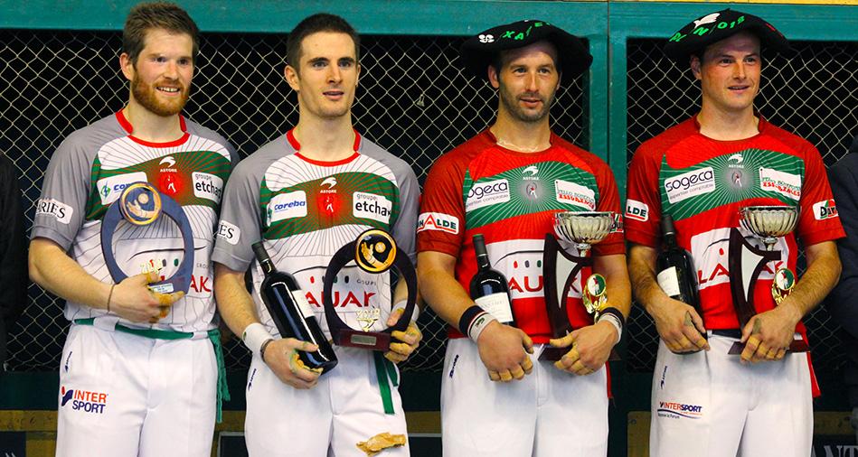 Trophée Atharri : Bielle-Harismendy ont bataillé contre Echeverria-Ducassou
