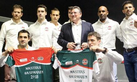 Les équipes des Masters d'Hasparren sont connues