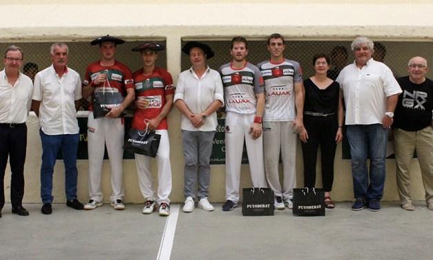 Tournoi de Cambo : la victoire à Bielle-Bilbao