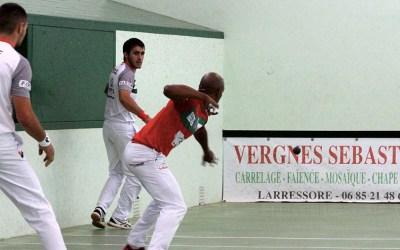 Etchegaray-Bilbao contre Waltary-Lambert à Larressore