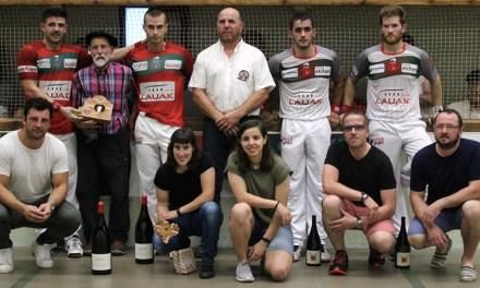 Tournoi de Mendionde : Larralde-Bilbao dominent Ospital-Ducassou