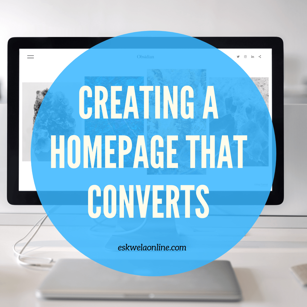 Designing a Home Page That Converts