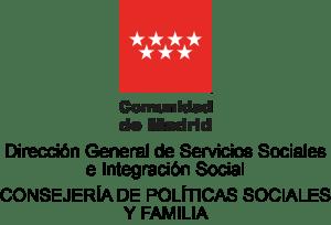 logo direccion general de servicios sociales e integración laboral