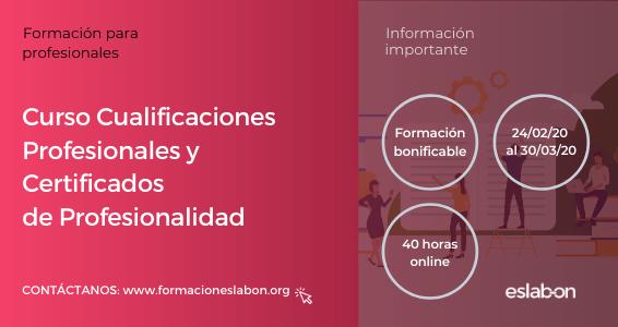 Curso de Cualificaciones Profesionales y Certificados de Profesionalidad (7ª Edición)