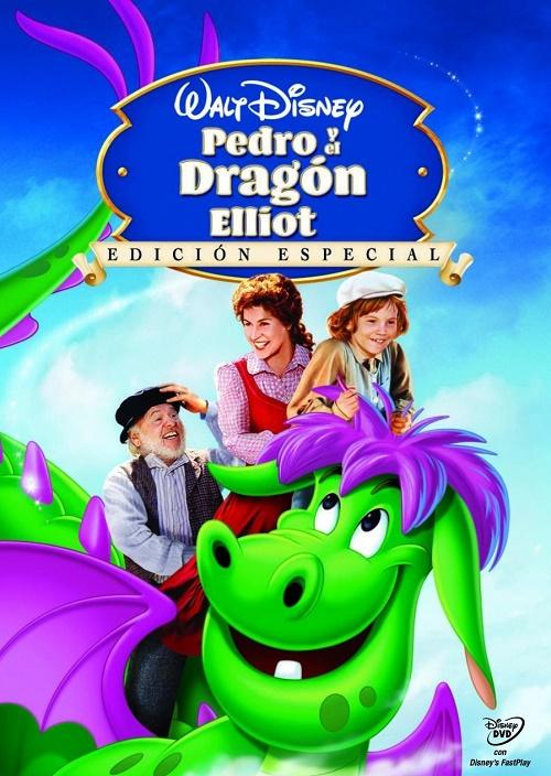Pedro y el dragón Elliot.