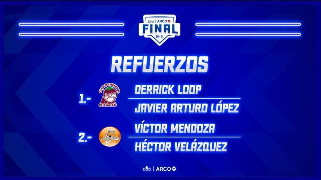 Culiacán y Hermosillo eligen sus refuerzos para la Serie Final