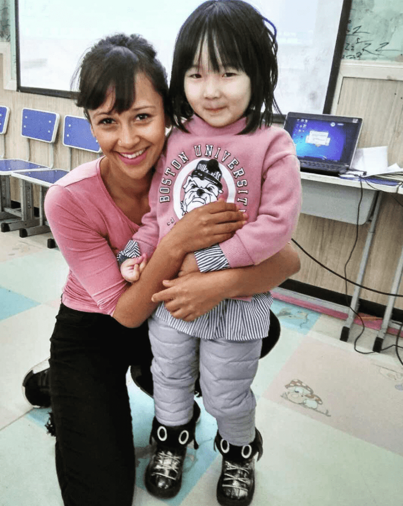teaching english in beijing - poppy