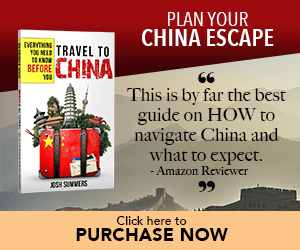 escape to china book