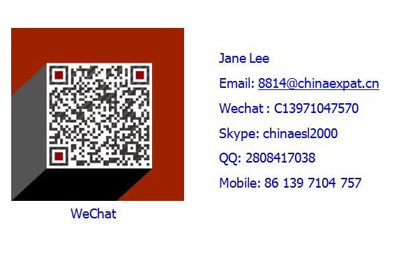 SAT/TOEFLTestPreparationInstructor needed in Beijing,20-23 k/Month.