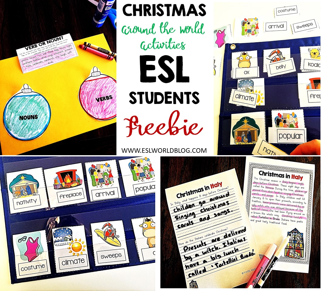 Christmas Around The World Esl Worksheets Free Esl World Blog