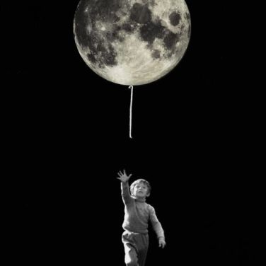Collage surrealista (Visto en Pinterest)