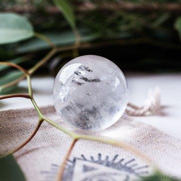 Esfera de Cuarzo Cristal de Roca Crystal Shop Esmagic