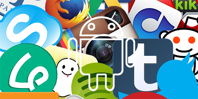 header android apps