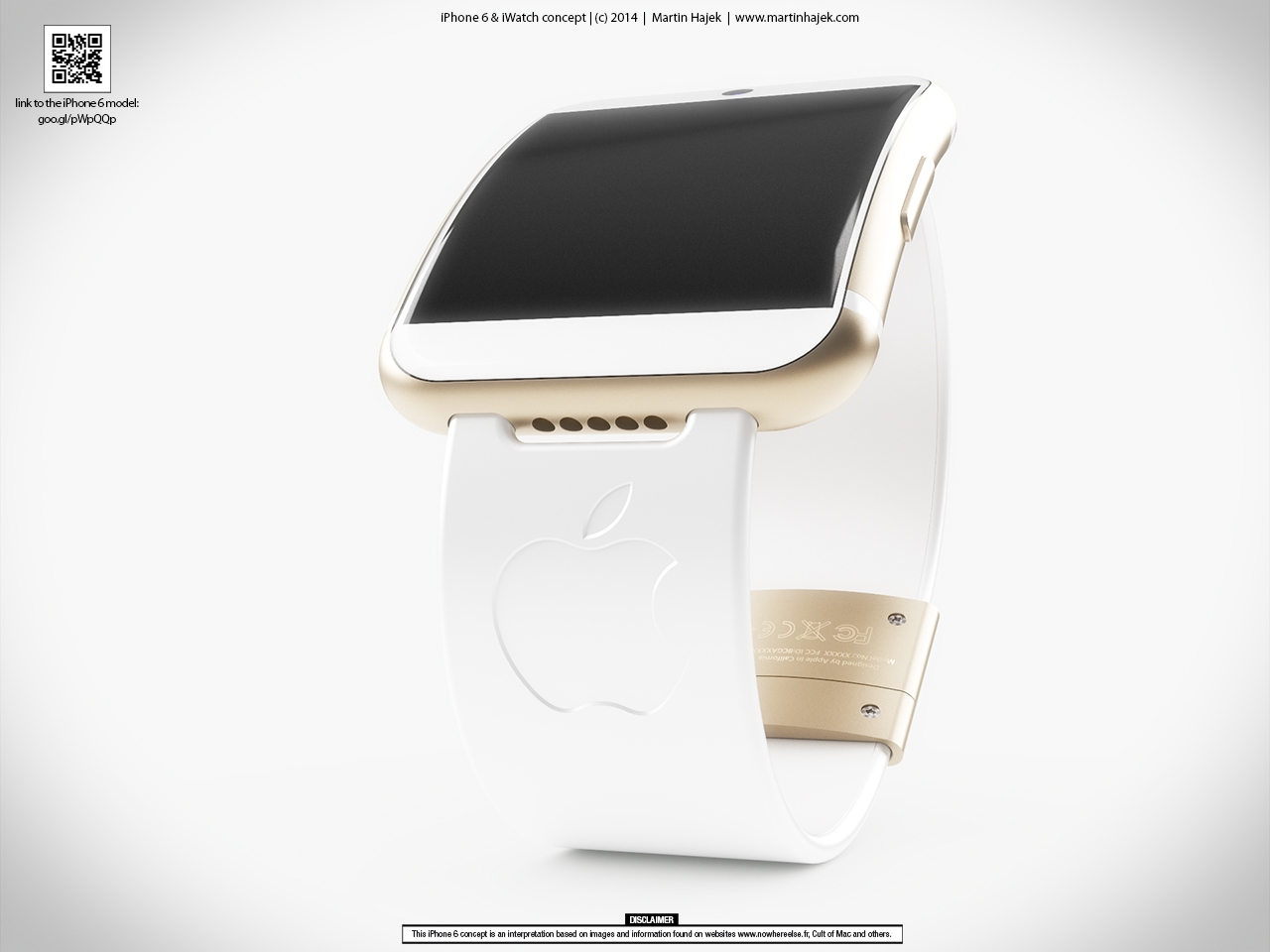 iWatch: Concepto basado en el rumorado iPhone 6