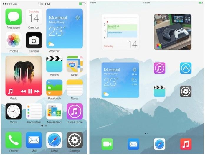 Ios blocks concept screens