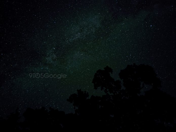 Pixel 4 camera sample astrophotography 1
