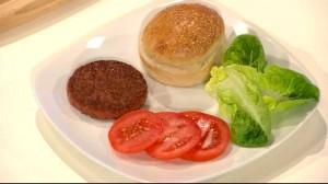 Esta es la hamburguesa producida en laboratorio y probada hoy