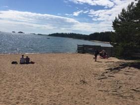 Beach outside of Porvoo