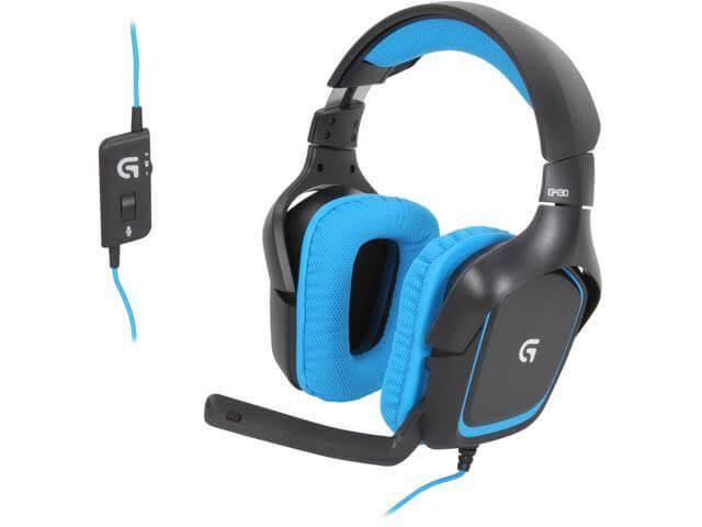 Logitech G430 Software