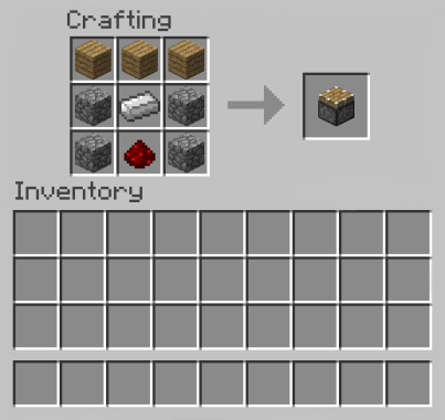 How to Make a Piston in Minecraft