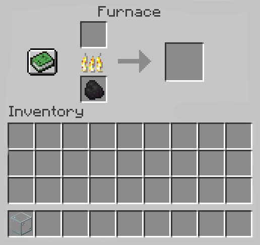 Make Glass in Minecraft