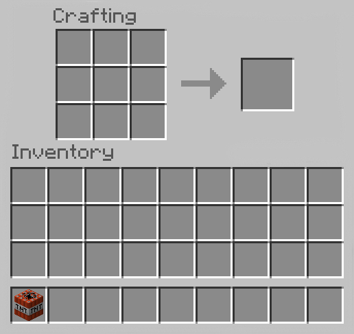 Make TNT in Minecraft