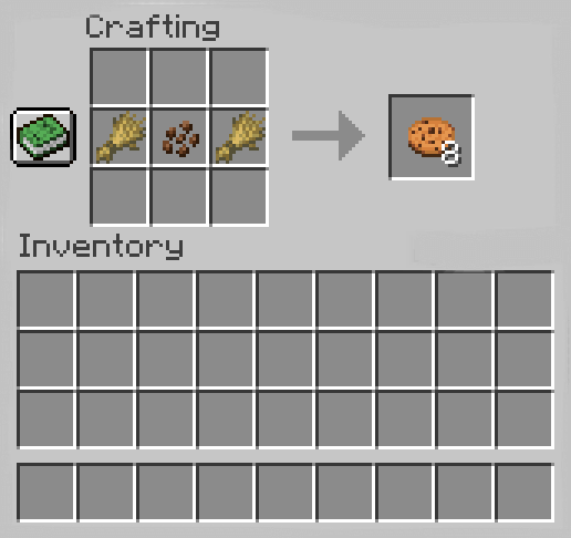 How to Make A Cookie In Minecraft