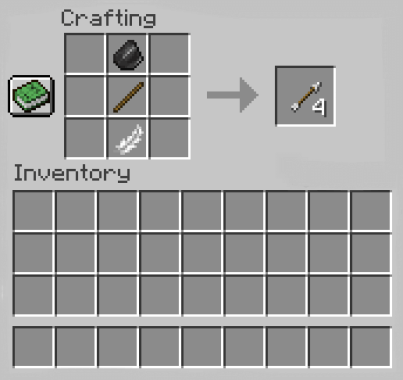 How to Make an Arrow in Minecraft