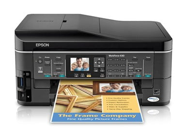 Epson WorkForce 630 Driver