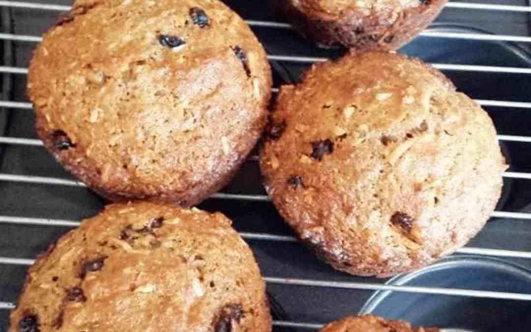 30-day Whole-wheat / Weet-Bix muffins