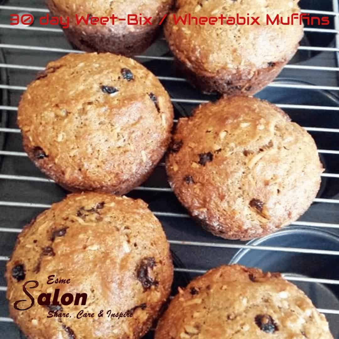 30-day Whole-wheat / Weet-Bix muffins #breakfast #healthy #fresh #baked #muffins #shareTRHcare