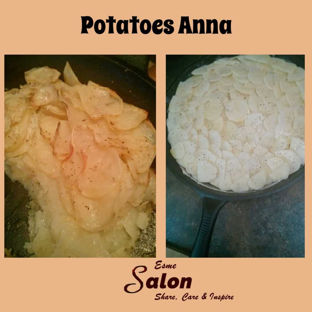 #Potatoes Anna, It was a #dinner to remember!