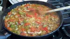 Veggie Paella (Vegan)2