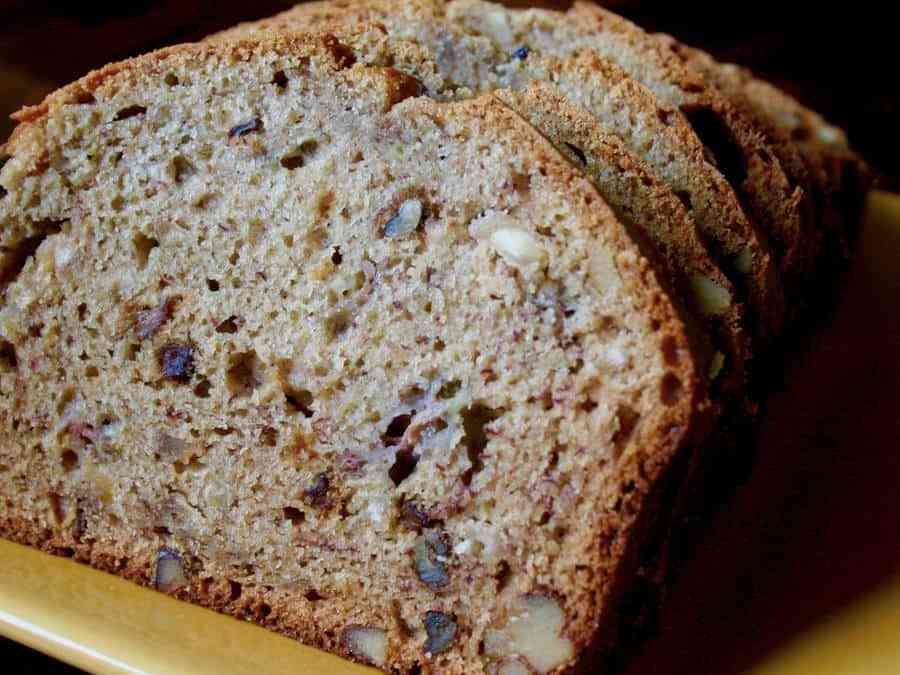 Banana and Dried Fig Bread