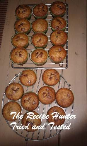 TRH Banana choc chip muffin